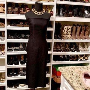 LIPSY Black Strapless Cocktail Dress NWT